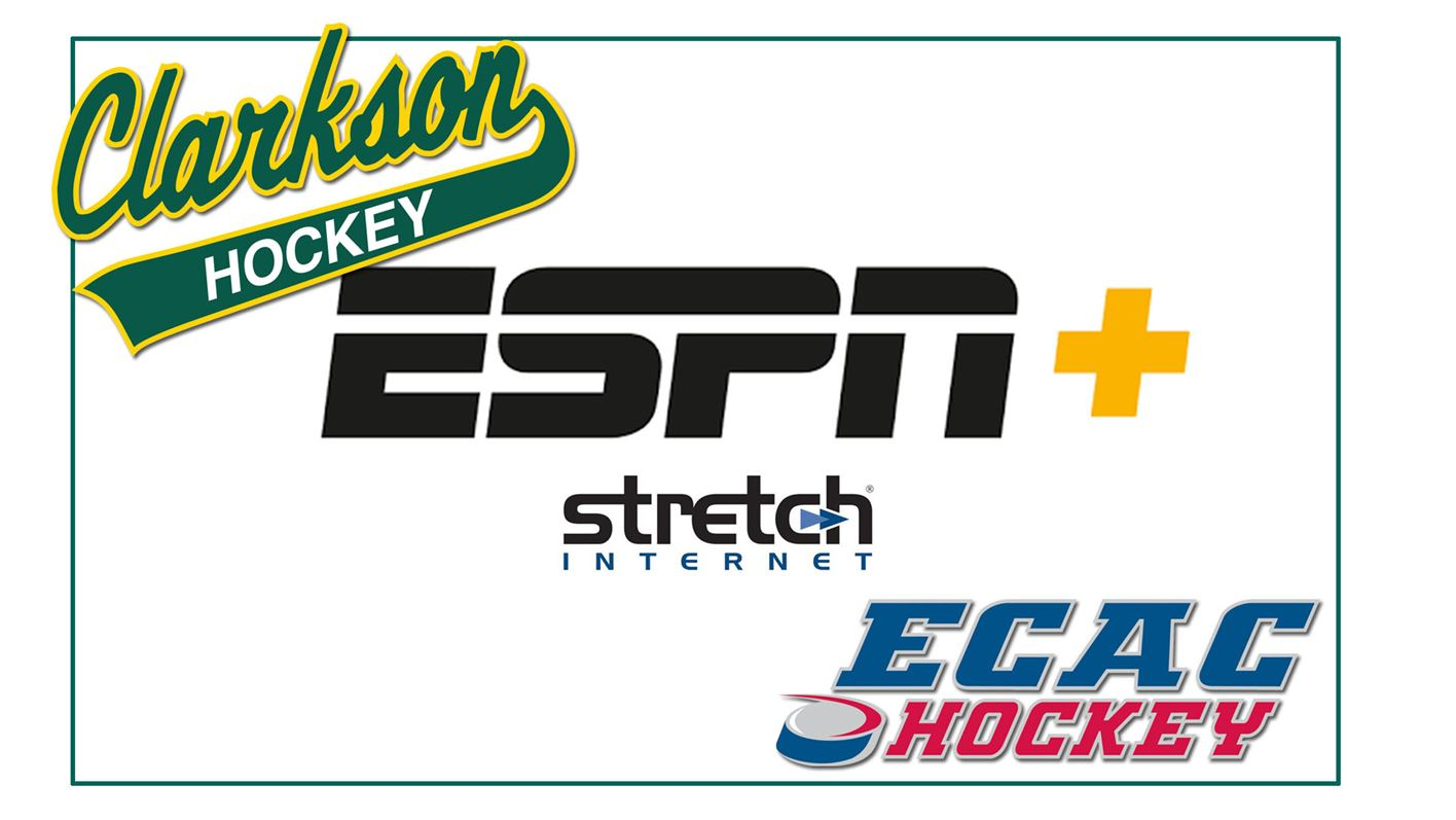 Clarkson Men's and Women's Hockey Games to Appear on ESPN+