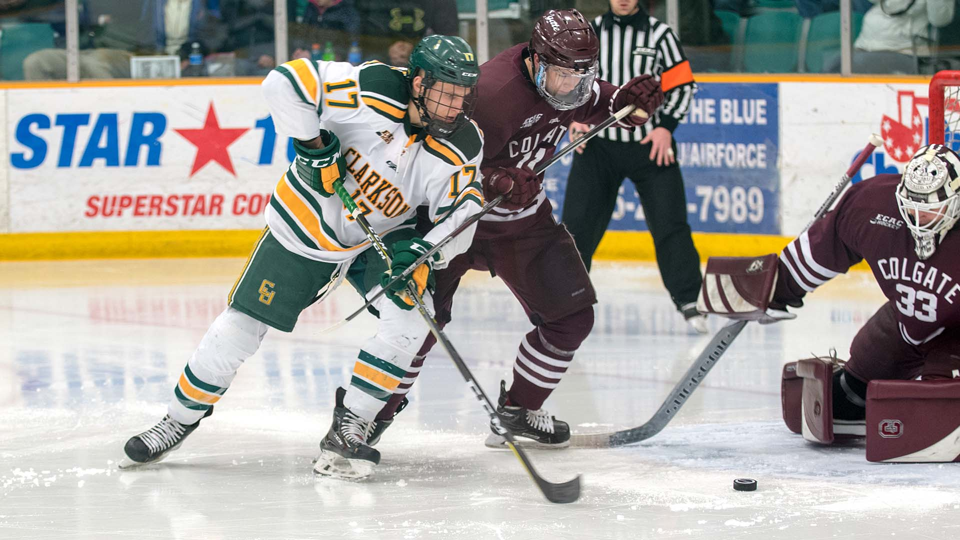 Image result for clarkson hockey 2018