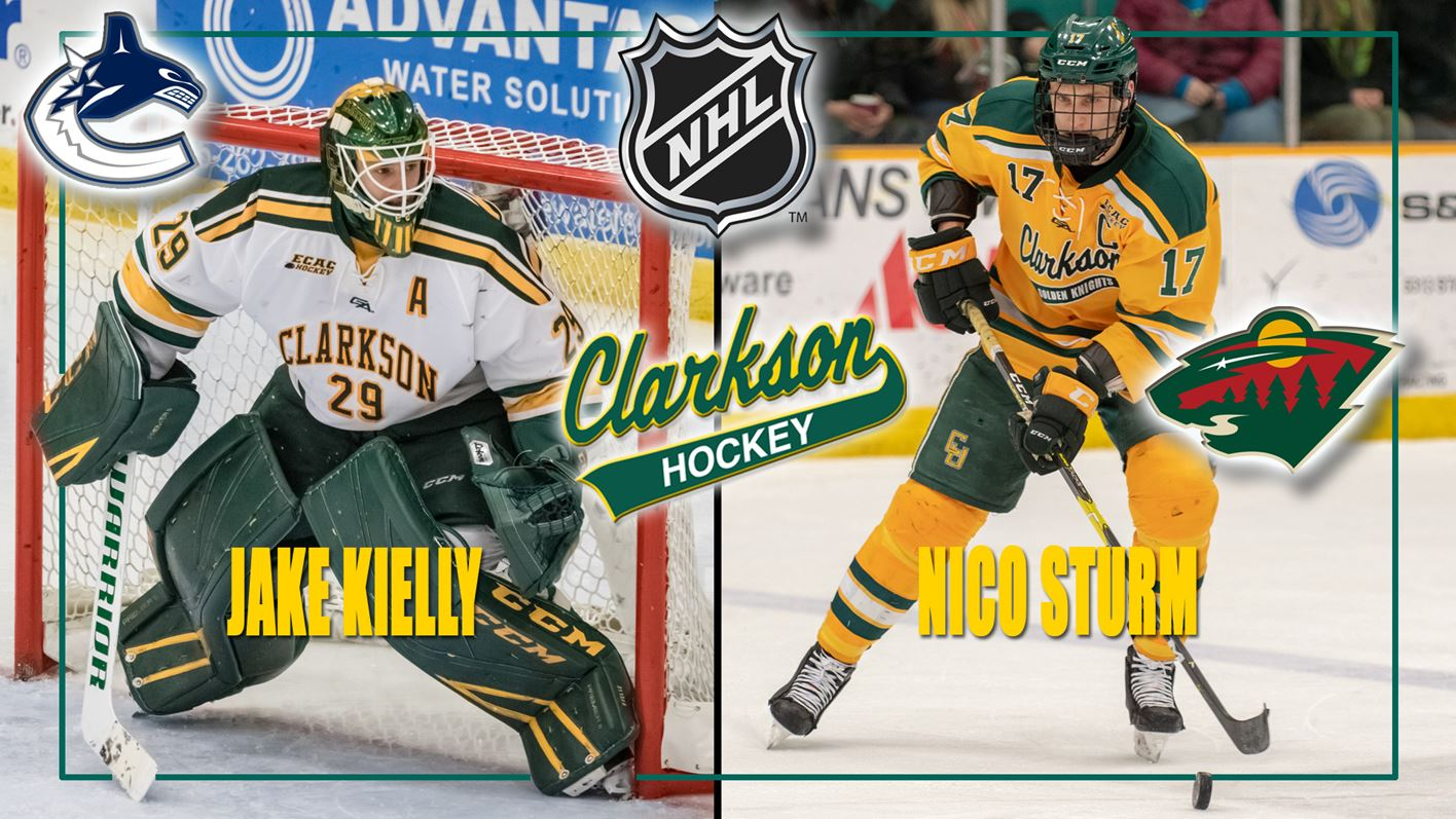 Kielly And Sturm Sign With National Hockey League Organizations