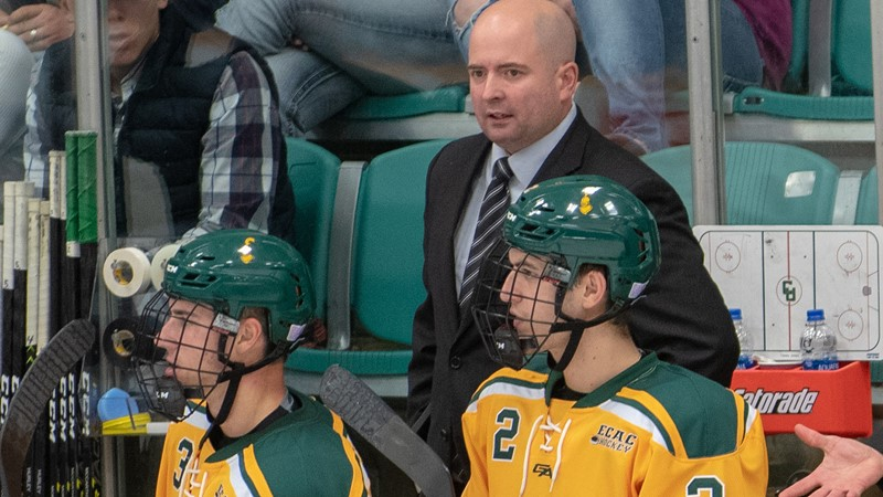Hauge Promoted to Associate Head Coach for Clarkson Hockey